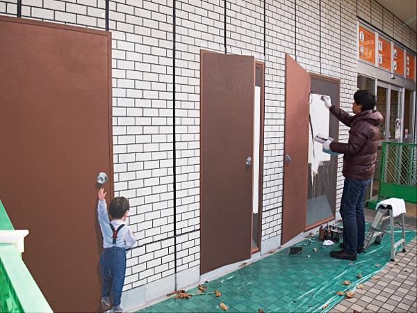 上郷の壁画1